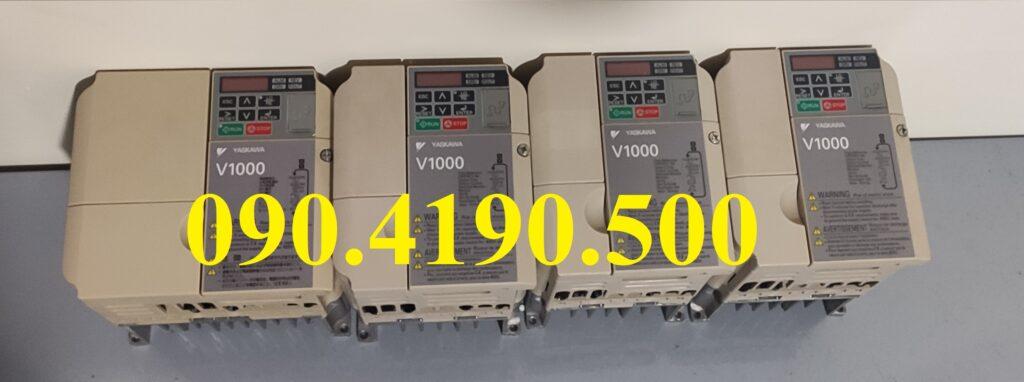 Biến tần Yaskawa V1000 vào 1 pha ra 3 pha 220v