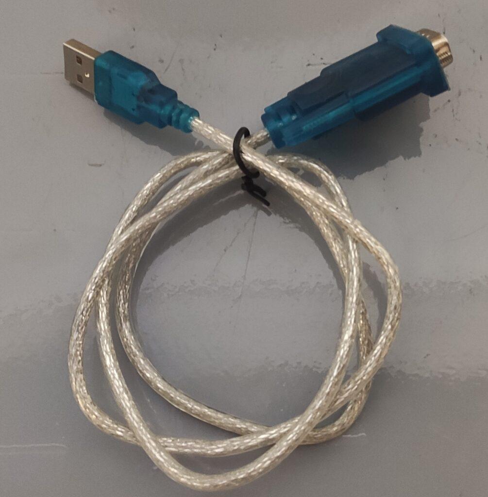 Dây cáp lập trình plc mitsubishi USB to COM