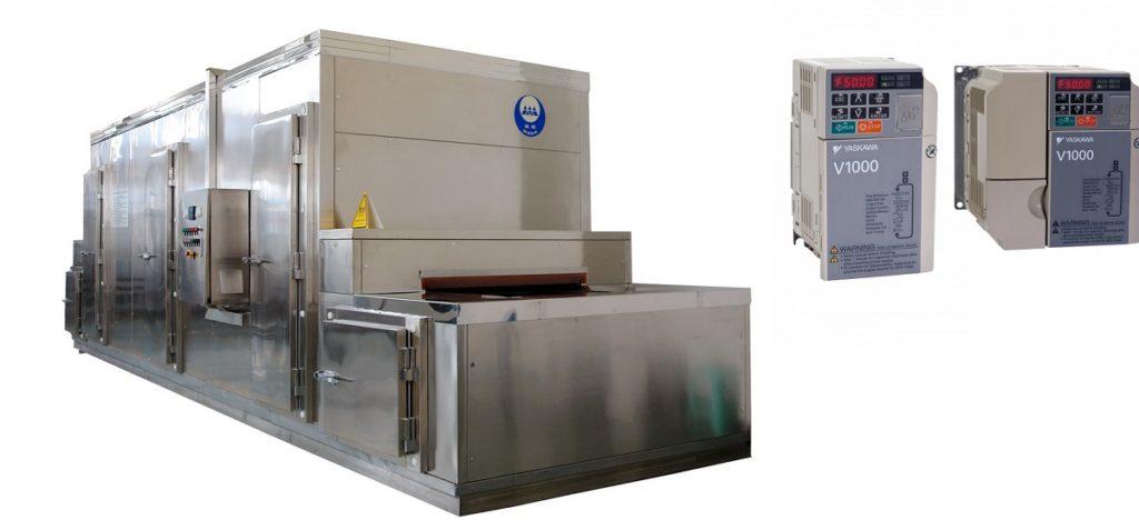 Biến tần tủ điện cho băng tải cấp đông thủy hải sản